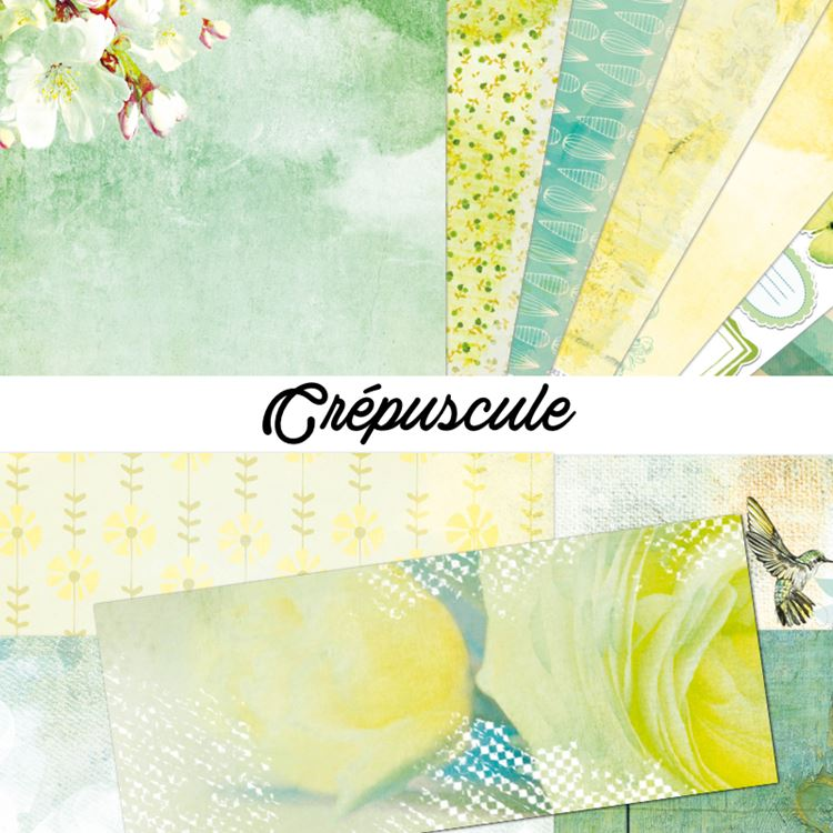 Collection de papiers Printemps Scrap Plaisir