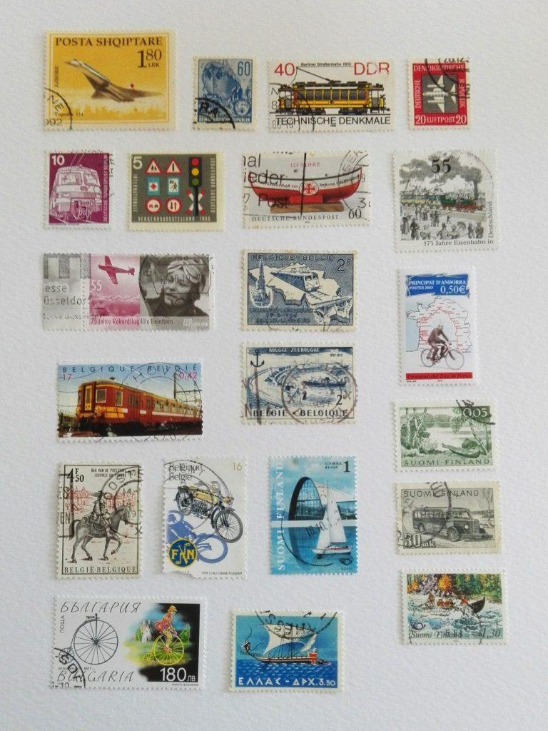 Si on ajoutait des timbres poste dans nos créations scrap et art journal