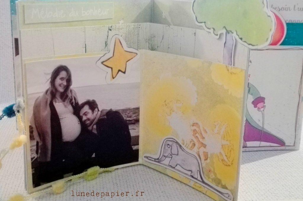 Cadeau pour une naissance thème Le Petit Prince