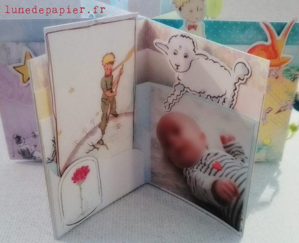 Cadeau personnalisé Le Petit Prince pour un bébé