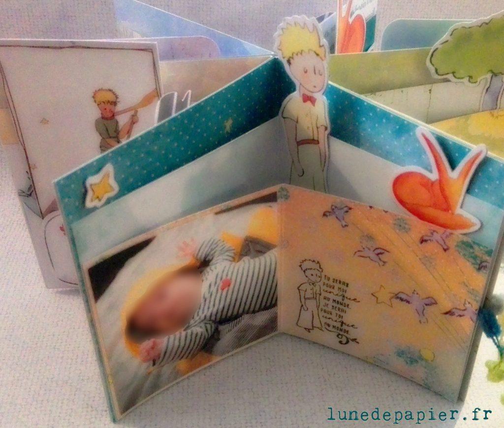 mini album déco 3D scrap à offrir