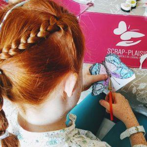 Ateliers de scrapbooking pour les enfants à Pleurtuit et Dinard