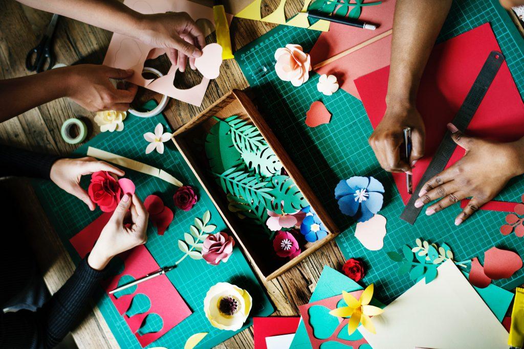 atelier créatif entre copines